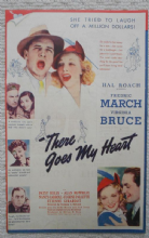 There Goes My Heart, Flyer/Herald, Fredric Marsh, Virginia Bruce, '38